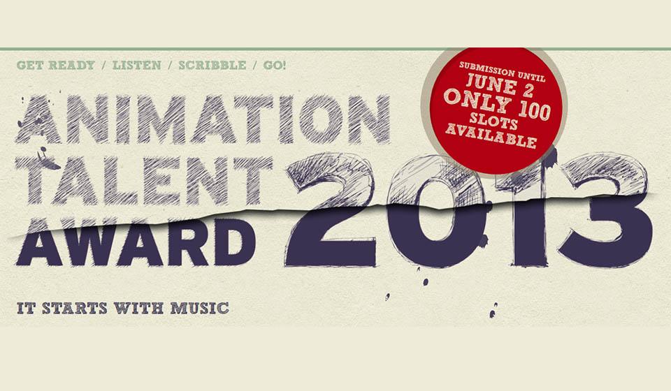 Animation Talent Award 2013