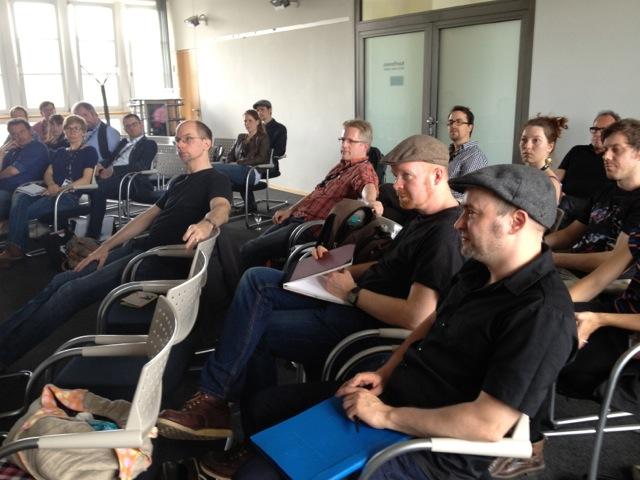 Rückblick auf den Branchentreff der AG Animationsfilm beim ITFS in Stuttgart am 25.4. 2014