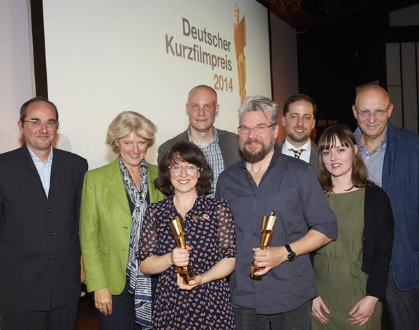 Deutscher Kurzfilmpreis 2014 – Preisverleihung in Hamburg