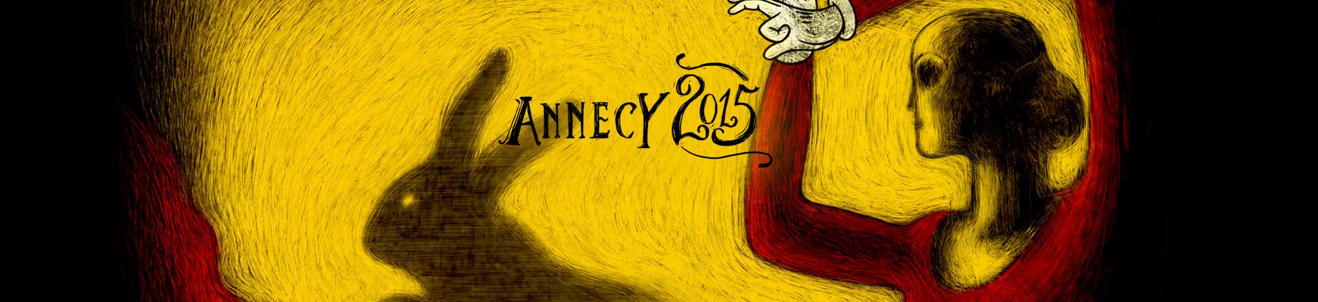 Trickfilmfestival in Annecy    15.- 20. Juni 2015