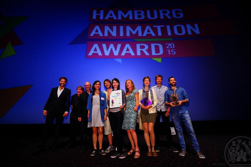 Preisträger des Hamburg Animation Awards 2015