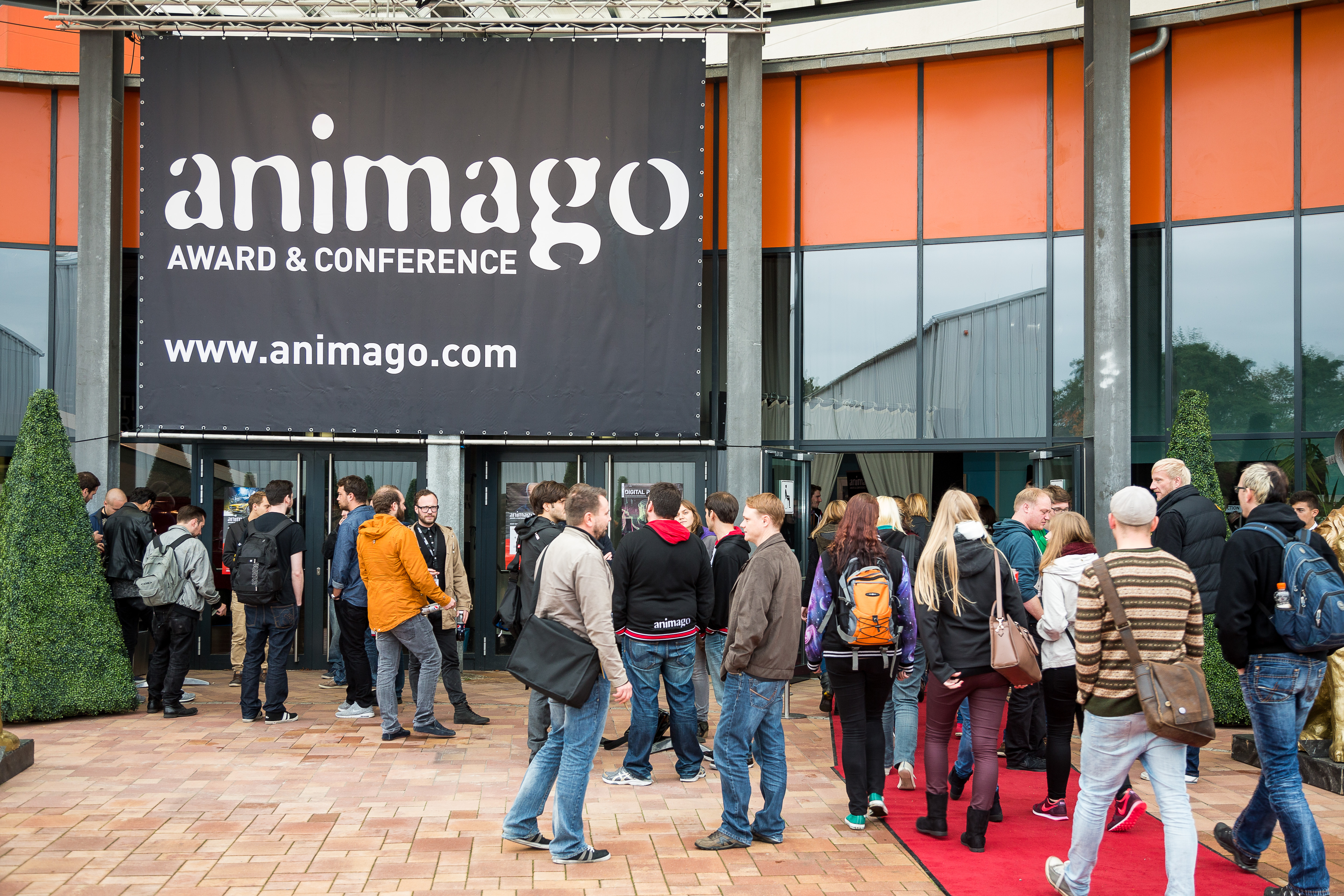 AG Animationsfilm mit Podium bei animago 2015