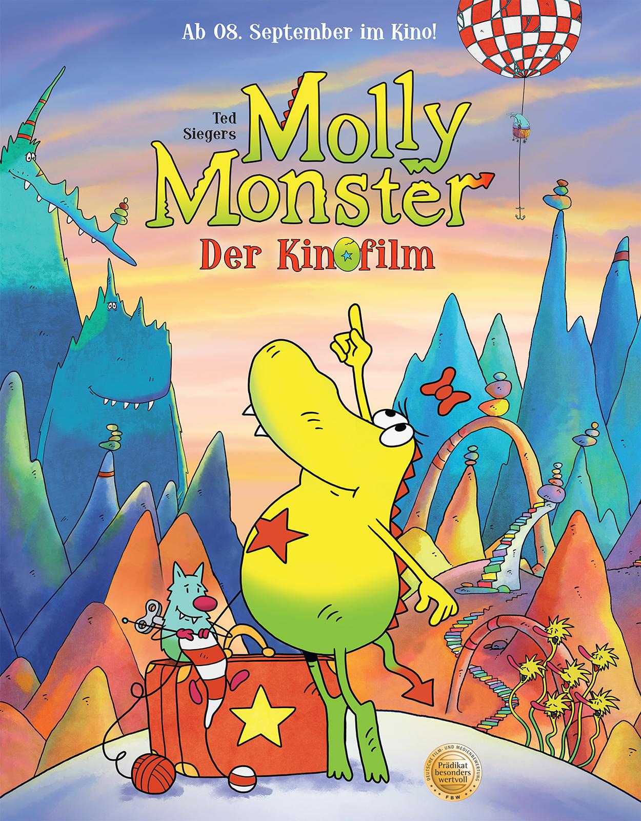 Molly Monster im Kino