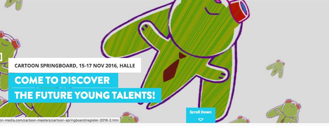 Aufgepasst! 3 Animationsleute aus Mitteldeutschland kostenlos zum Workshop von Barbara Slade am 15.11.2016