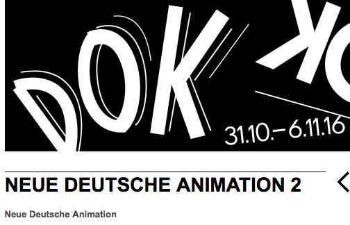 Neue Deutsche Animation bei DOK Leipzig