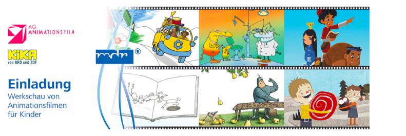 1. bundesweite Werkschau von Animationsfilmen für Kinder am 1.Februar 2017 in Erfurt