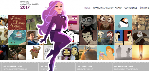 Diskussionsrunde beim Hamburg Animation Award am 22. Juni 2017