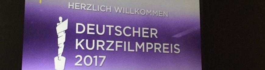 Verleihung des Deutschen Kurzfilmpreis 2017