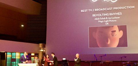 1. European Animation Awards in Lille vergeben