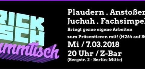 7. März 2017 20 Uhr Tricktisch Berlin