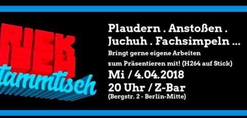 Tricktisch-Stammtisch am 4.April 2018