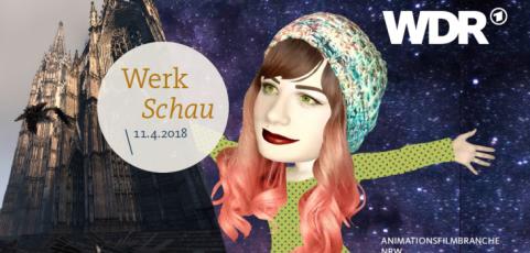 Eigene Veranstaltung: Werkschau der Animationsfilmbranche in NRW in Kooperation mit dem WDR