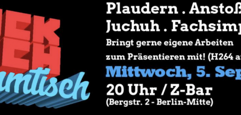 Tricktisch am 5. September 2018 in Berlin