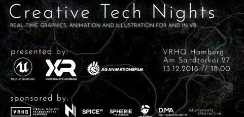 Trickfilmtreffen Hamburg: 1. Crossover Event Creative Tech Nights
