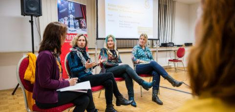 Better Together- Podium zu Frauen in der Animation der AG Animationsfilm bei der animago-conference in München