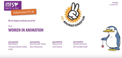 Podium zu Frauen in der Animation vom ITFS 2021 jetzt online